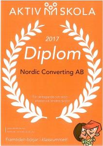 Diplom Aktiv Skola